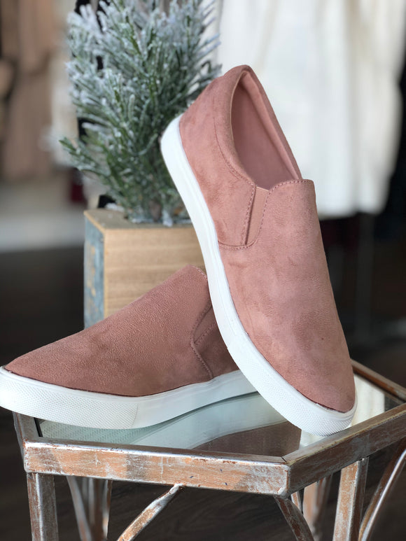 The Samm Sneakers (Blush)