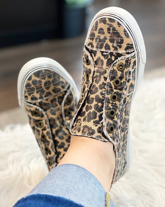 Leopard Play Tennis Shoes