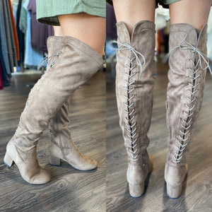 Stella Boot (Taupe)