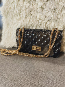 Lock And Chain Mini Bag