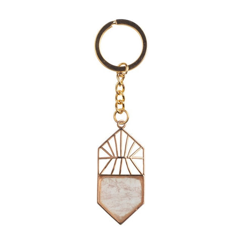 Crystal Amulet Keyrings - The Triple Goddess