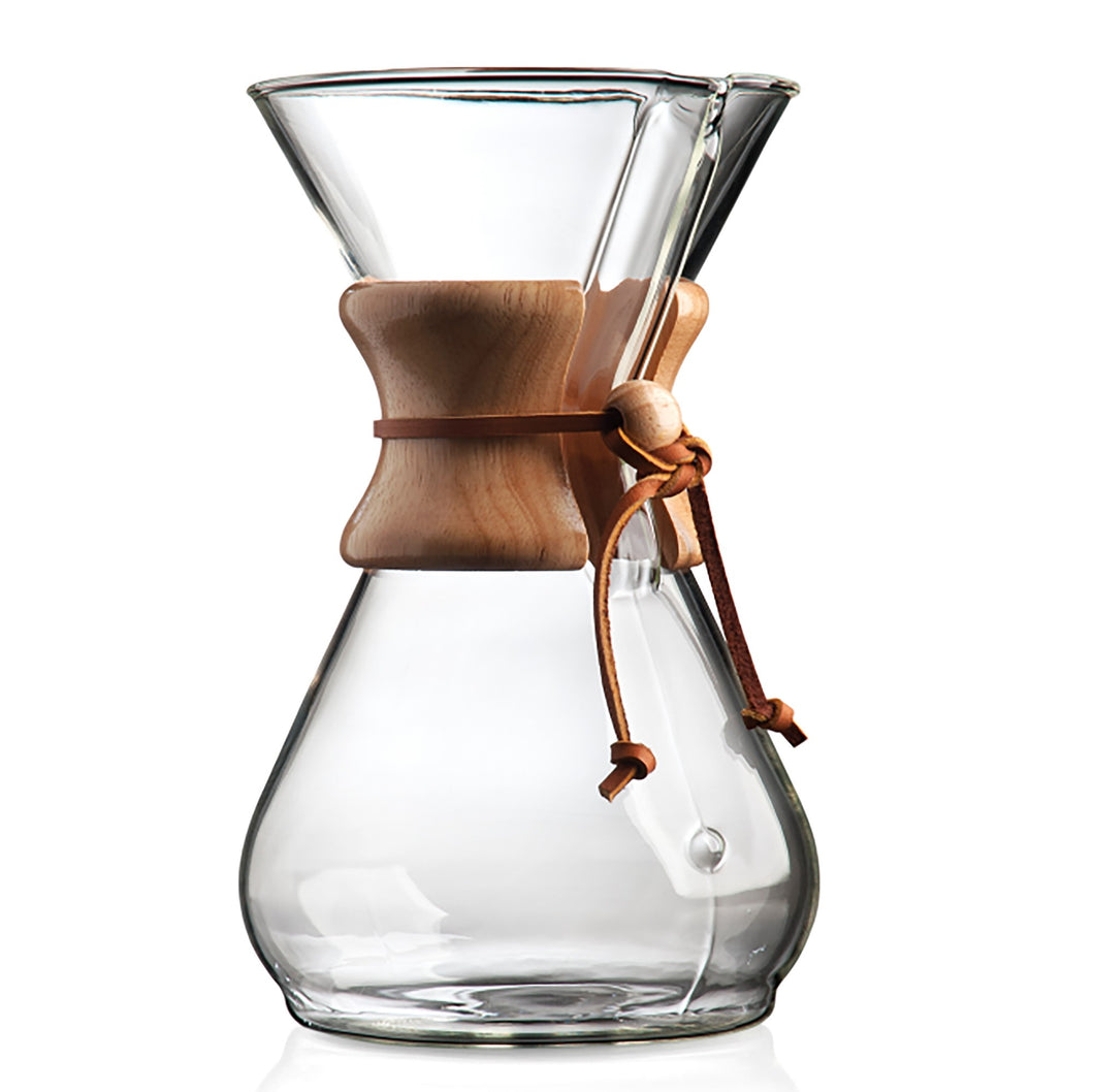 The Chemex Classic Coffeemaker (Serves 6)