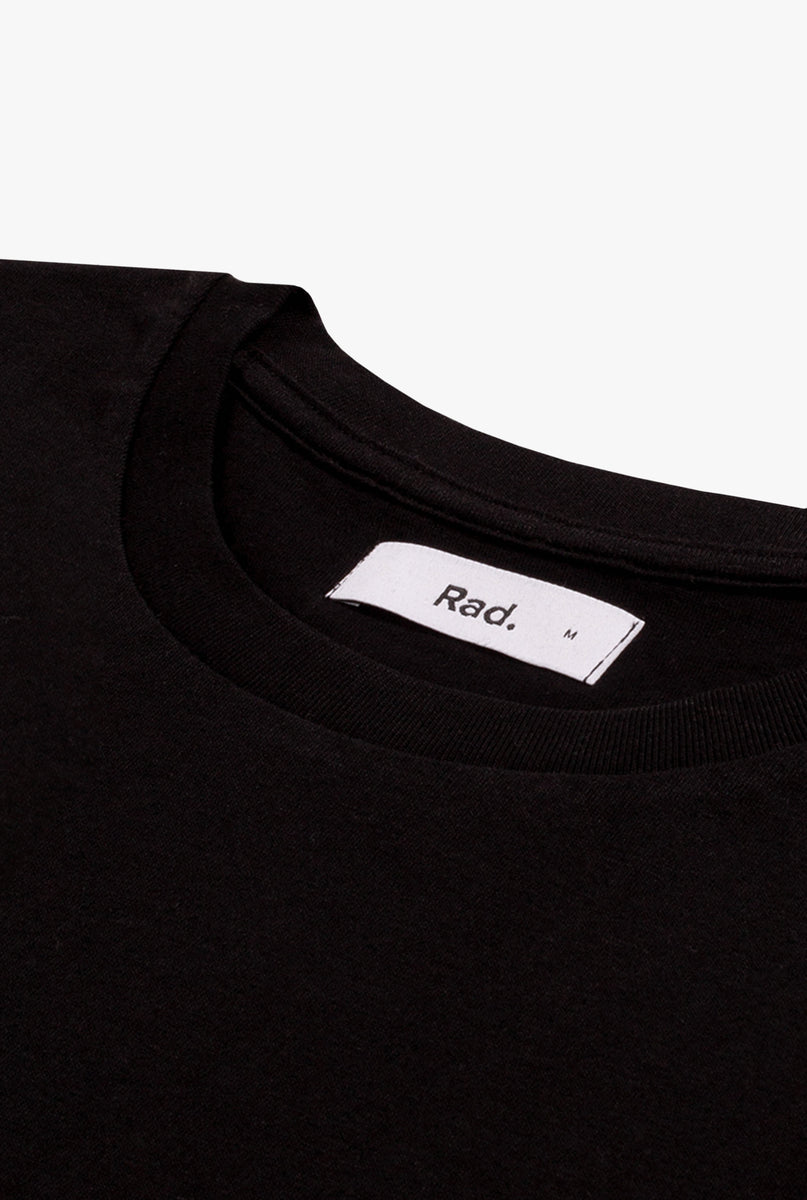T-Shirt S/S Black Made In The 90s