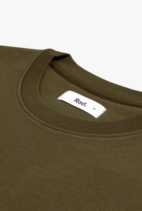 Crewneck Khaki Smiley