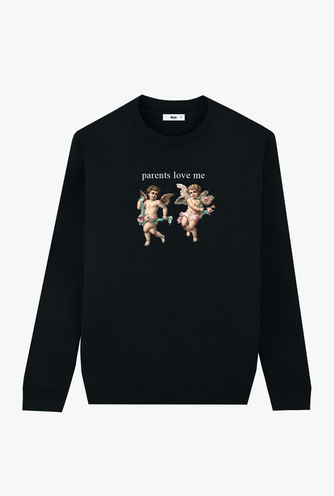 Crewneck Black Angel