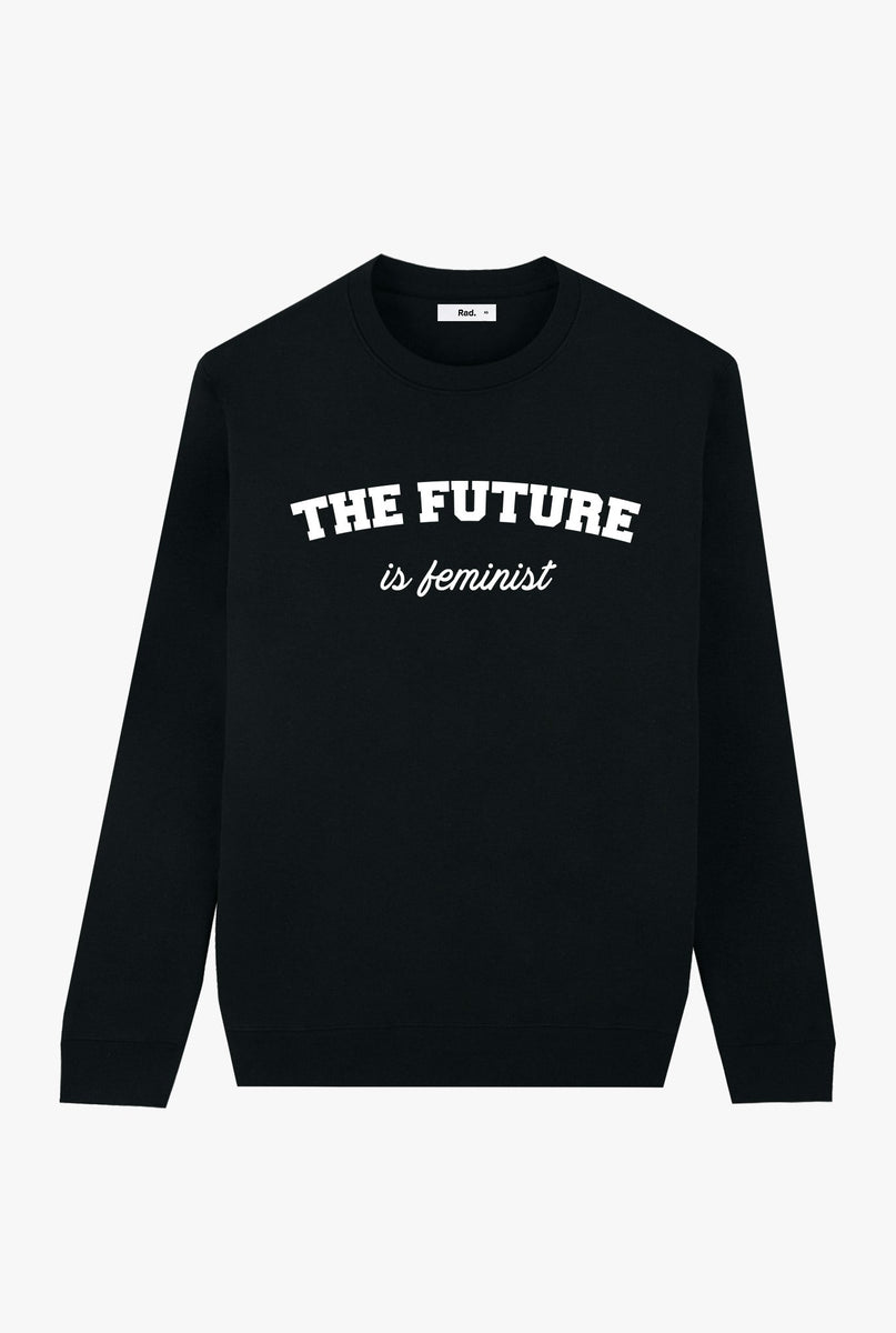 Crewneck Black The Future is Feminist