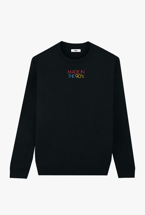 Crewneck Black Made In The 90s