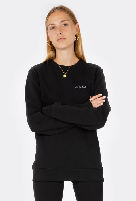 Crewneck Rebelle - Embroidered
