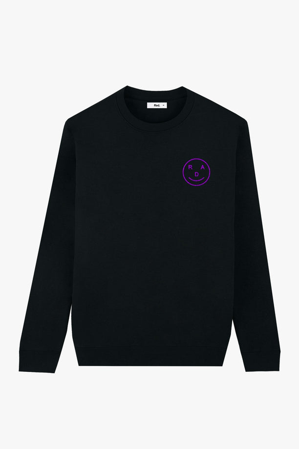Crewneck Black Smiley