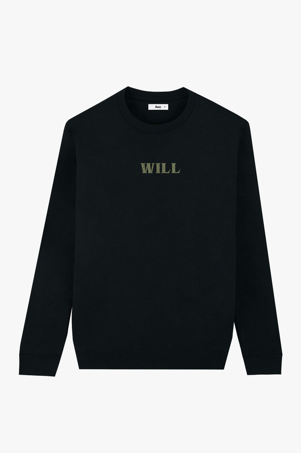 Crewneck Black Will