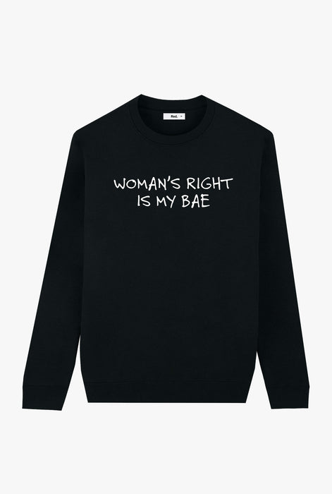 Crewneck Black Woman's Right
