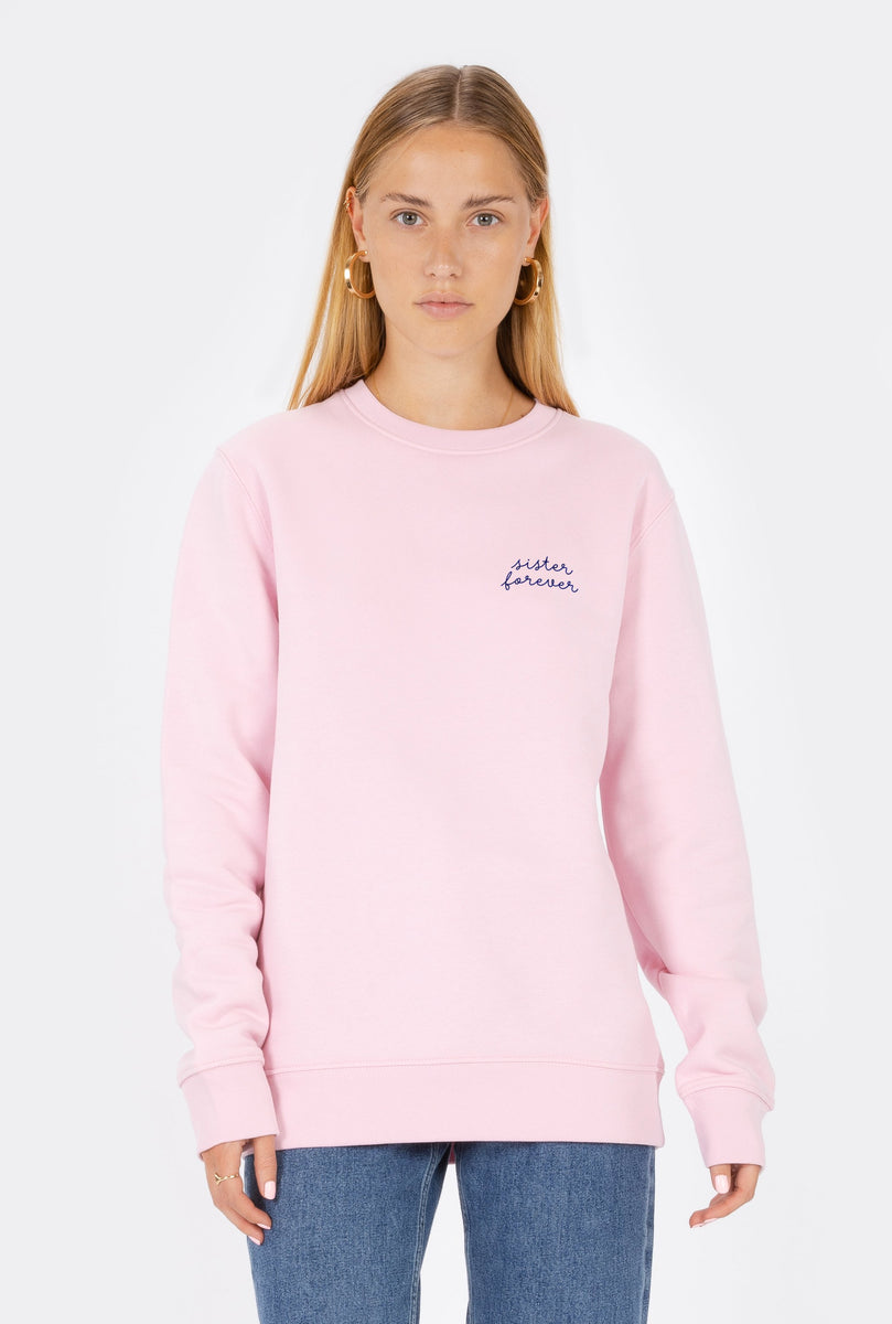Crewneck Sister Forever - Embroidered
