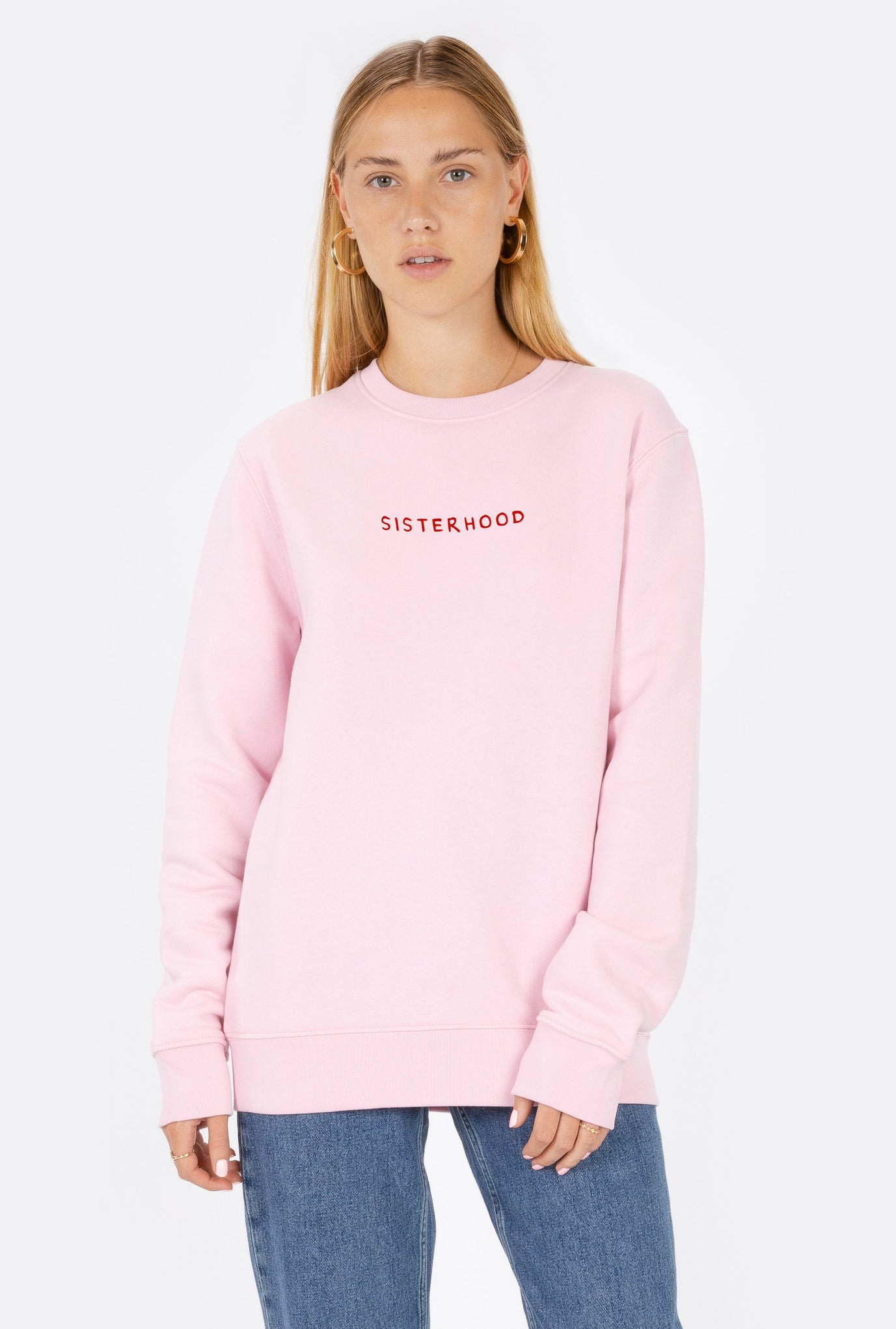 Crewneck Sisterhood - Embroidered