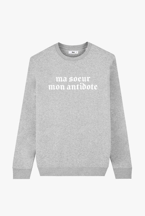 Crewneck Heather Grey Antidote
