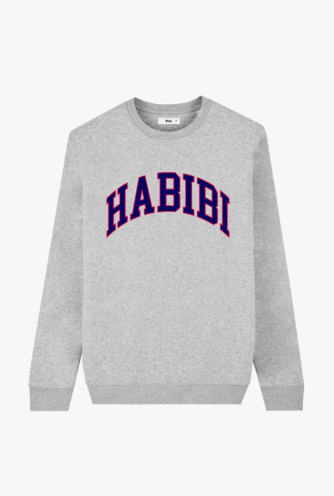 Crewneck Heather Grey Habibi