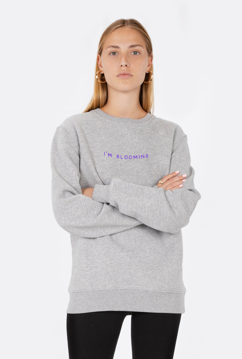 Crewneck I'm Blooming - Embroidered