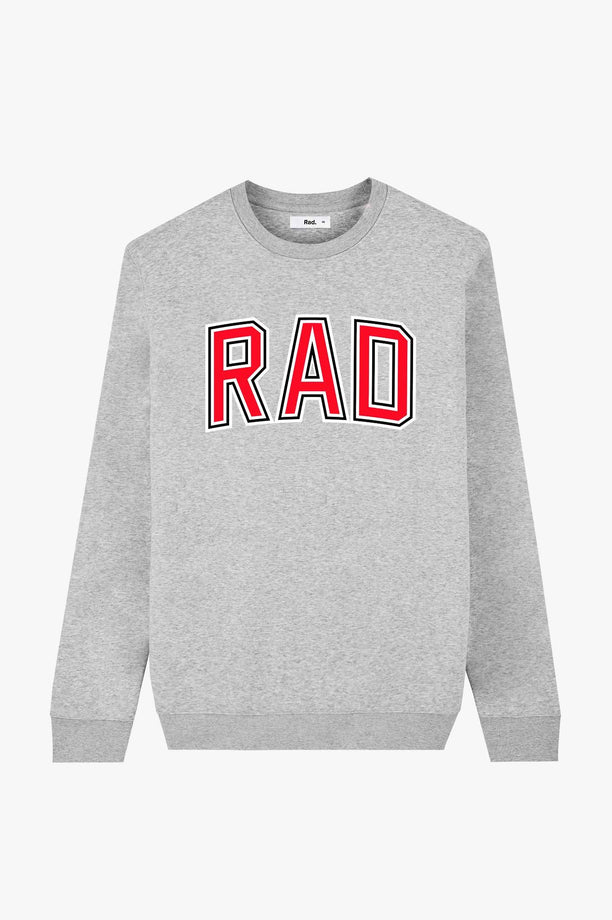 Crewneck Heather Grey College
