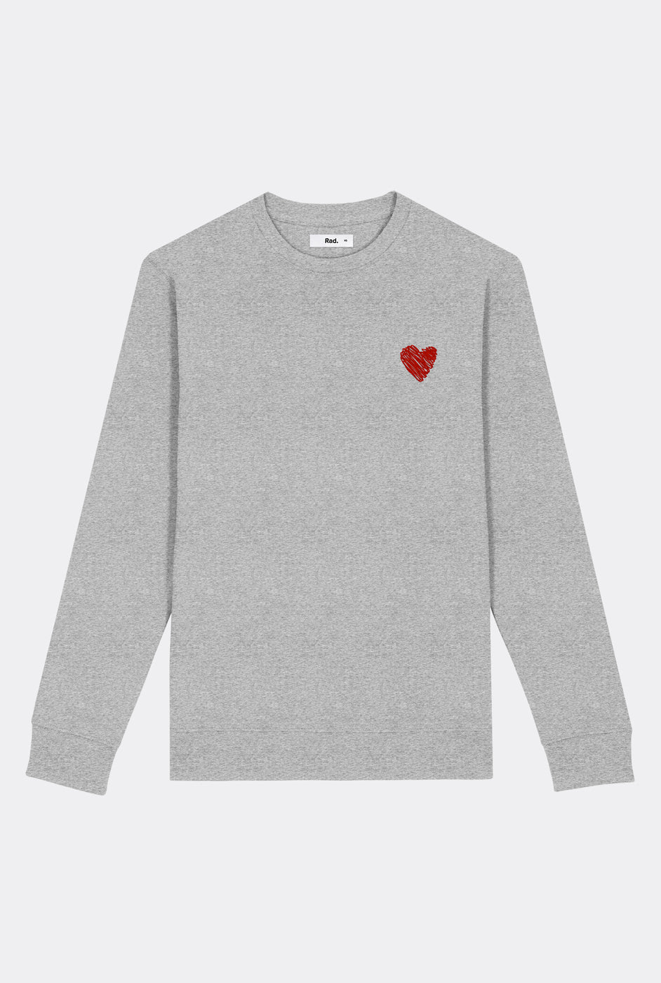Crewneck Little Heart - Embroidered