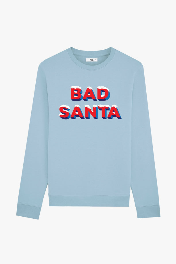 Crewneck Blue Bad Santa