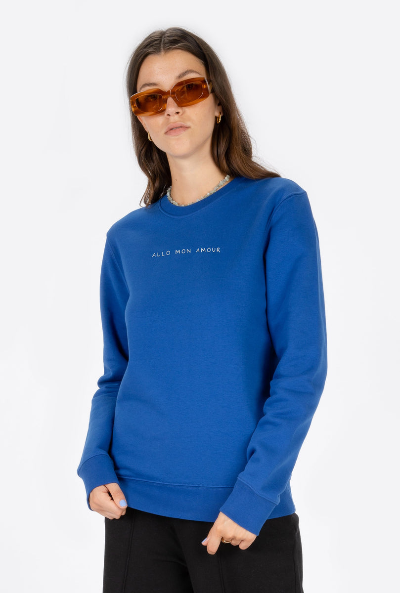 Crewneck Allo Mon Amour - Embroidered