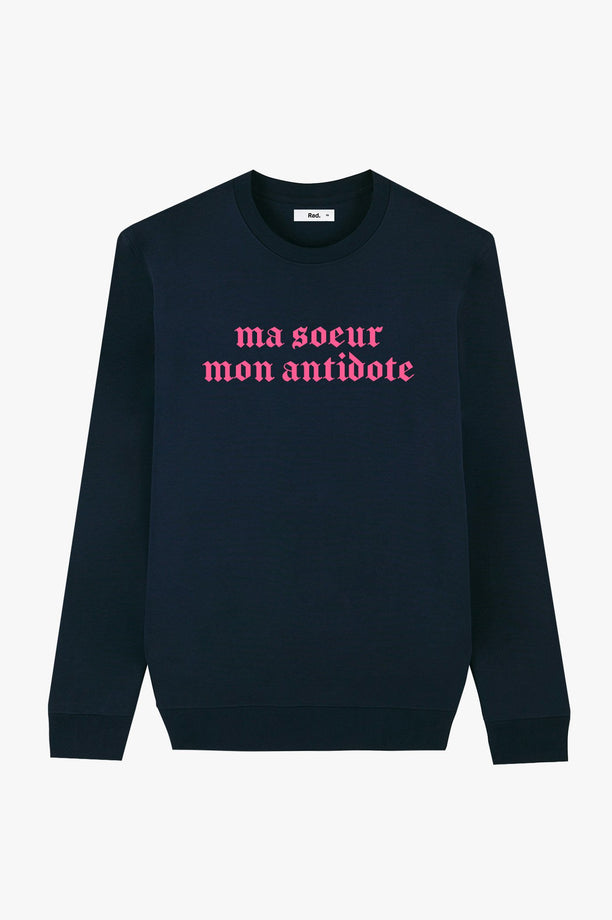 Crewneck Navy Antidote