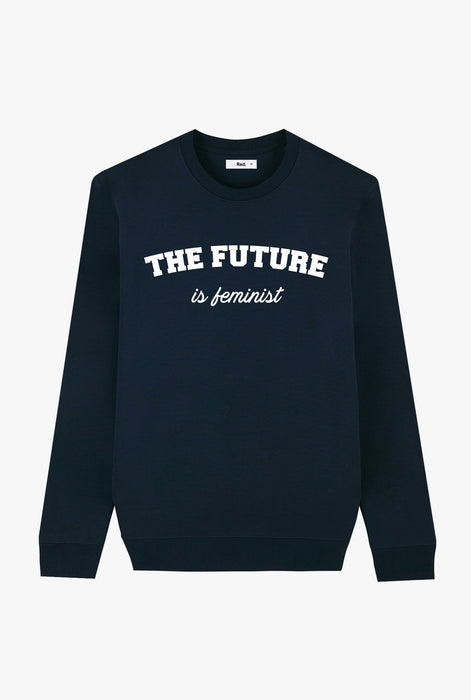 Crewneck Navy The Future is Feminist