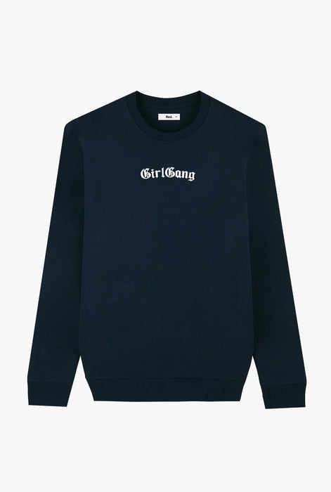 Crewneck Navy Girl Gang