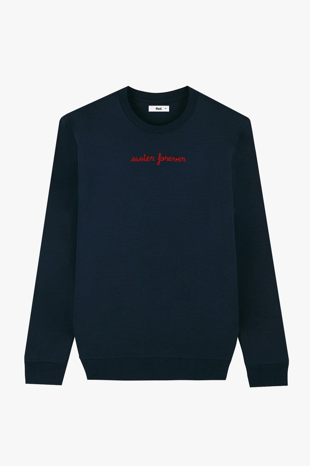 Crewneck Navy Sister Forever