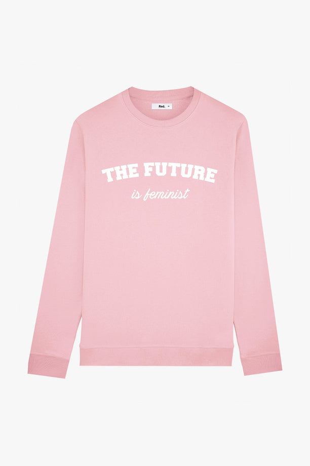 Crewneck Pink The Future is Feminist