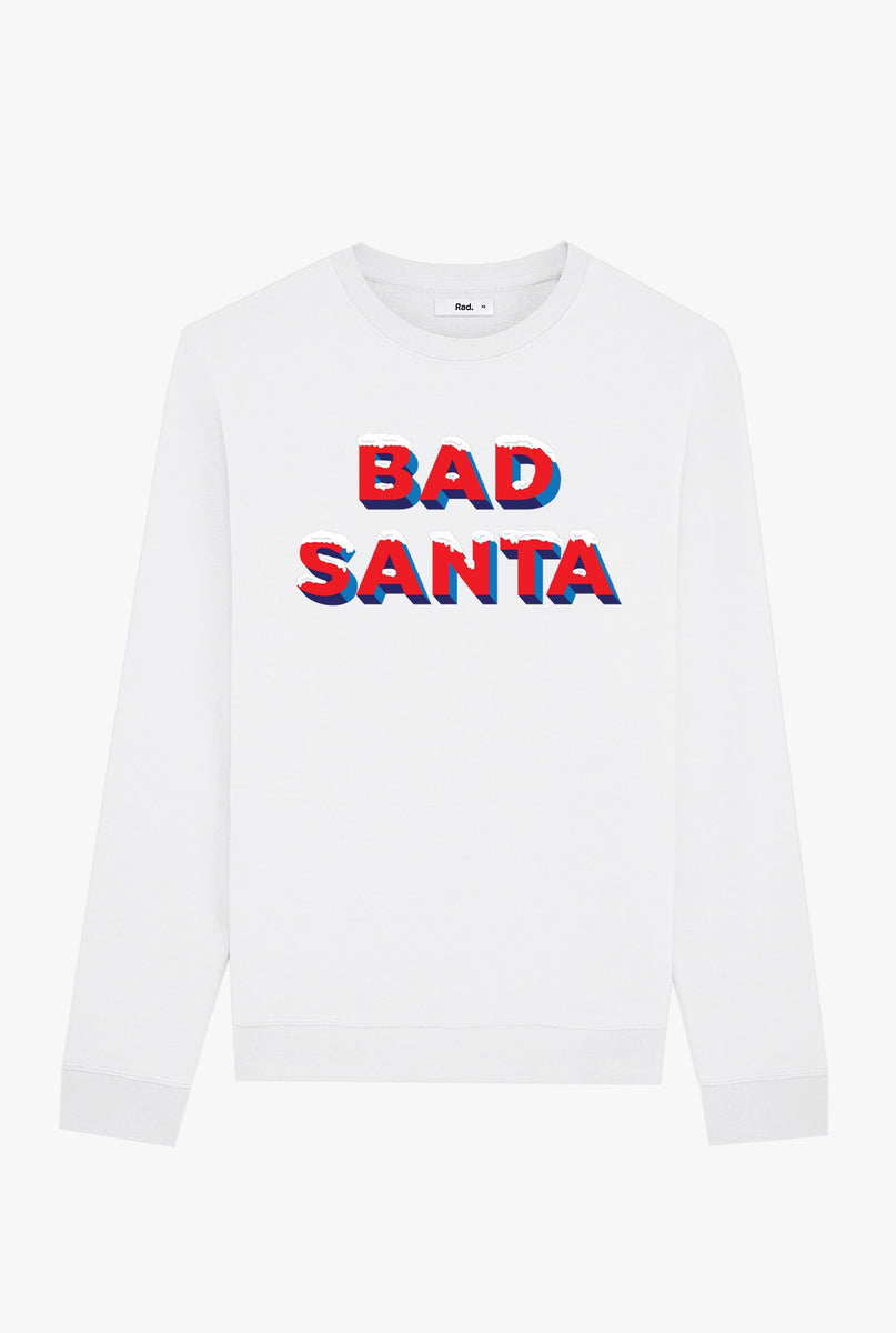 Crewneck White Bad Santa