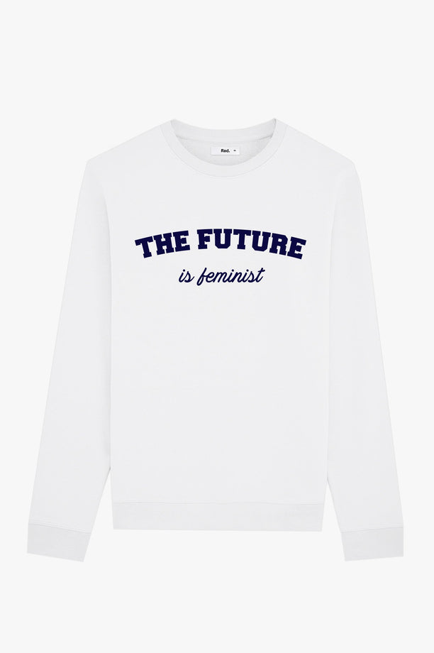 Crewneck White The Future is Feminist
