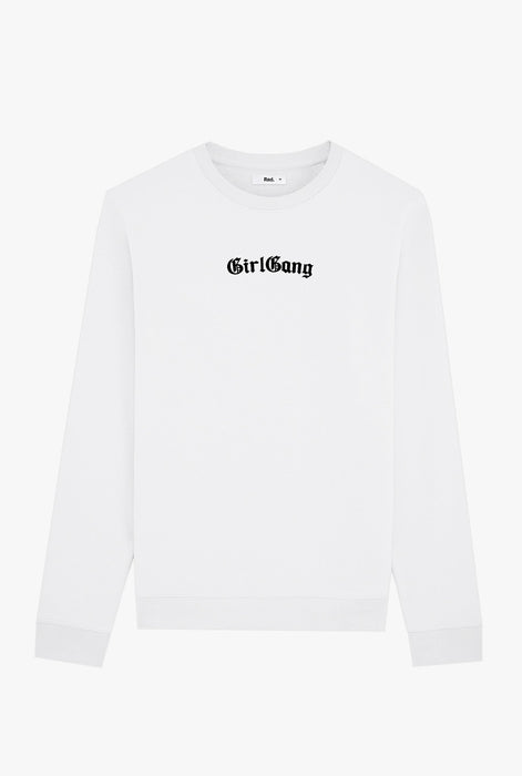 Crewneck White Girl Gang