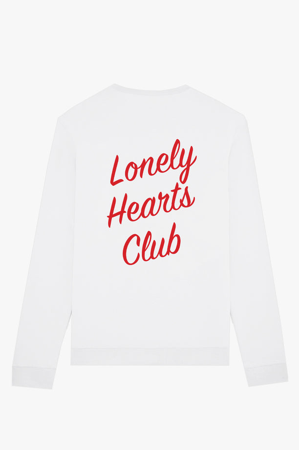 Crewneck White Lonely Hearts Club