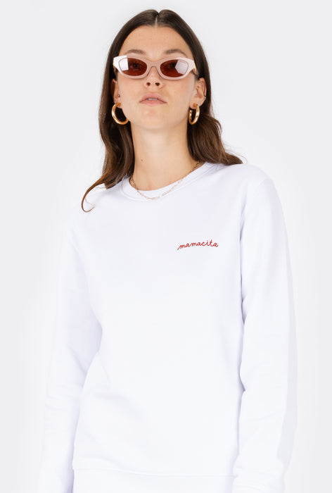 Crewneck Mamacita - Embroidered