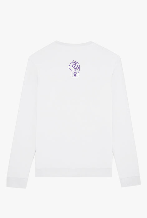 Crewneck White Protect