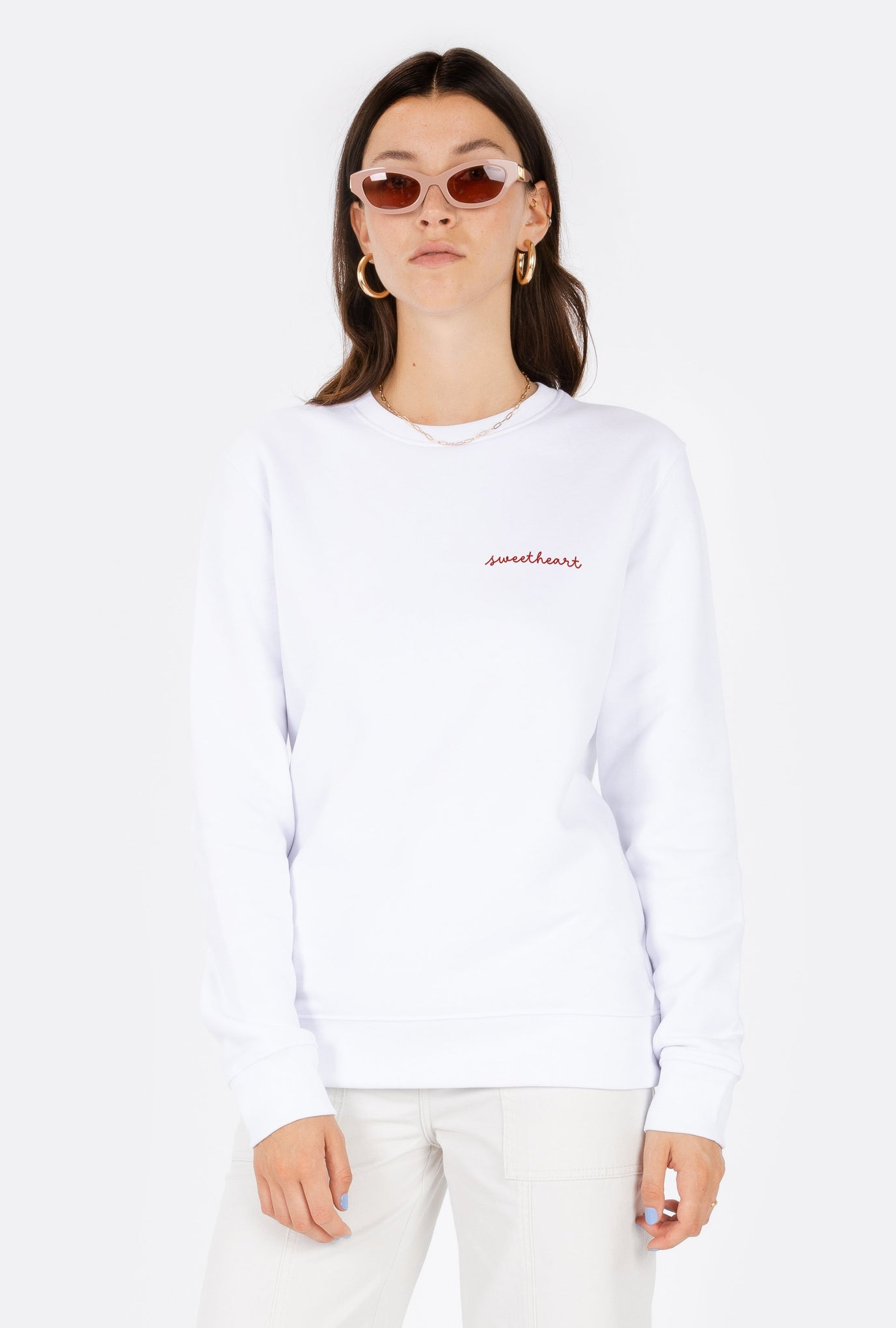 Crewneck Sweetheart - Embroidered