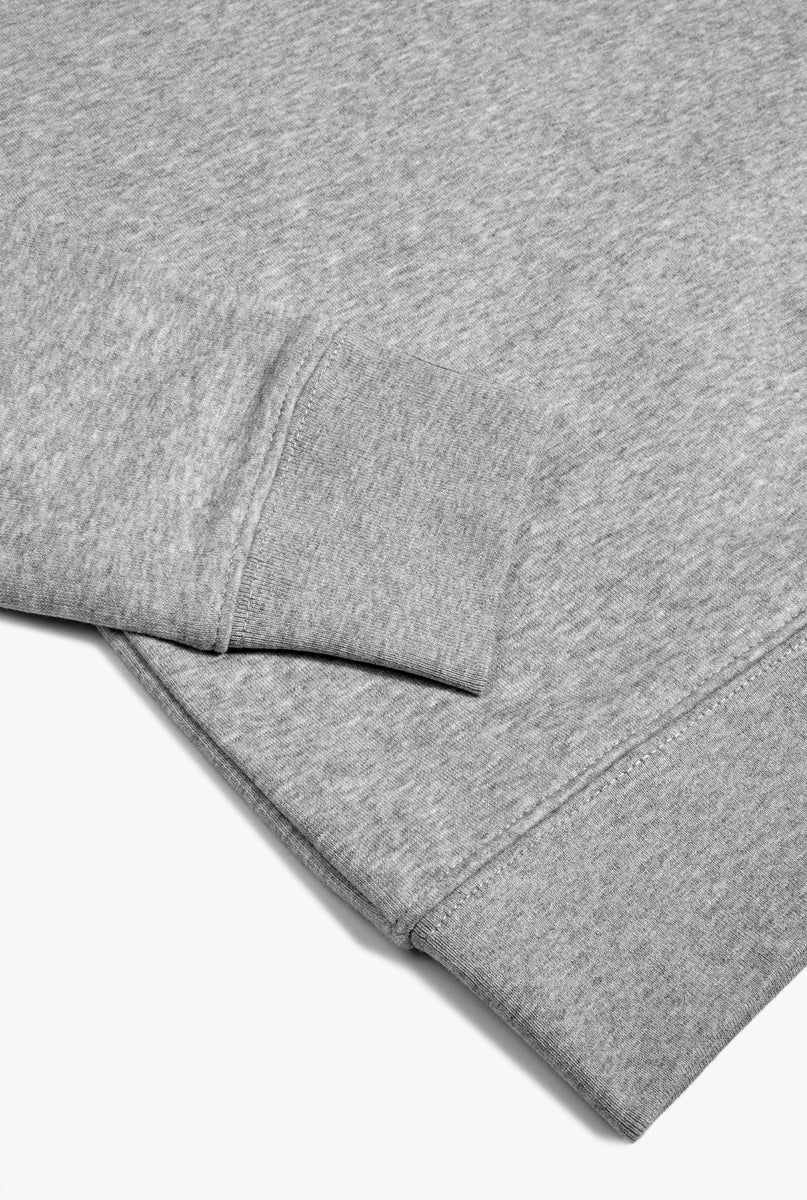 Crewneck Heather Grey Smiley