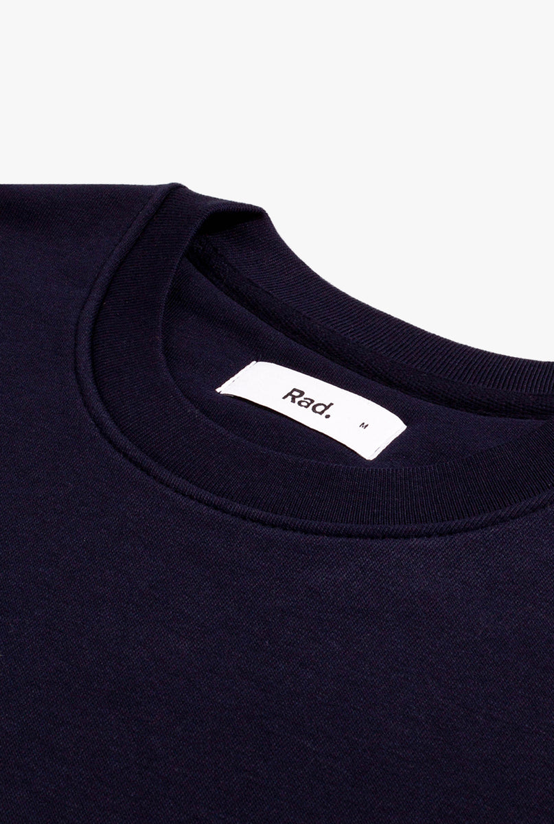 Crewneck Navy Woman's Right