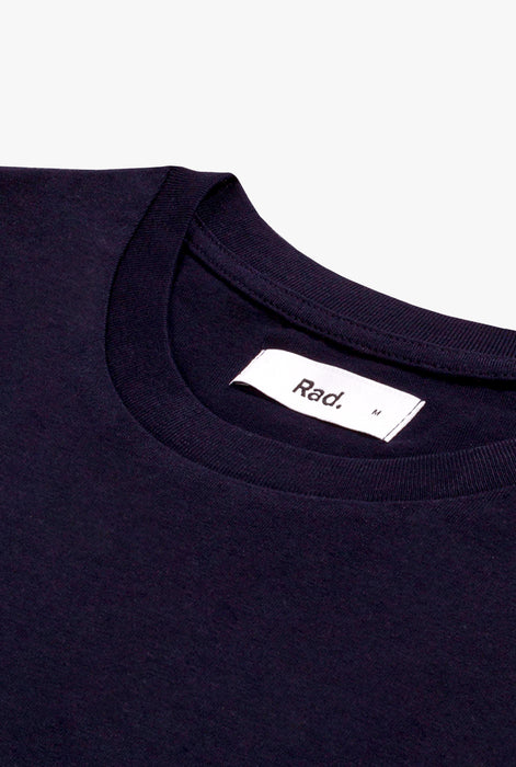 T-Shirt S/S Navy La Belle Et Le Bad Boy