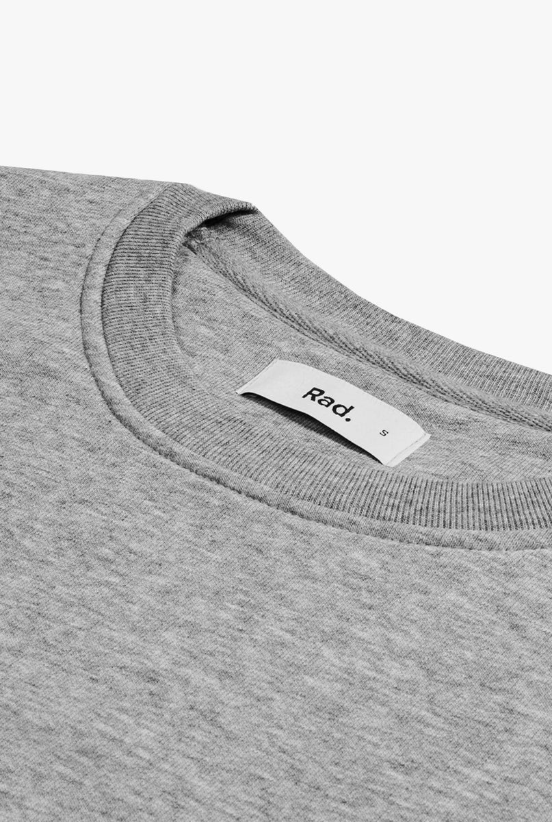 Crewneck Heather Grey Woman's Right