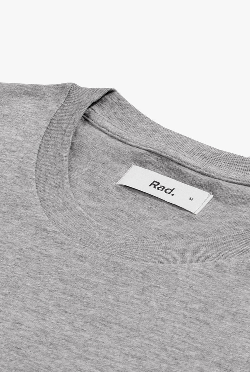 T-Shirt S/S Heather Grey Habibi