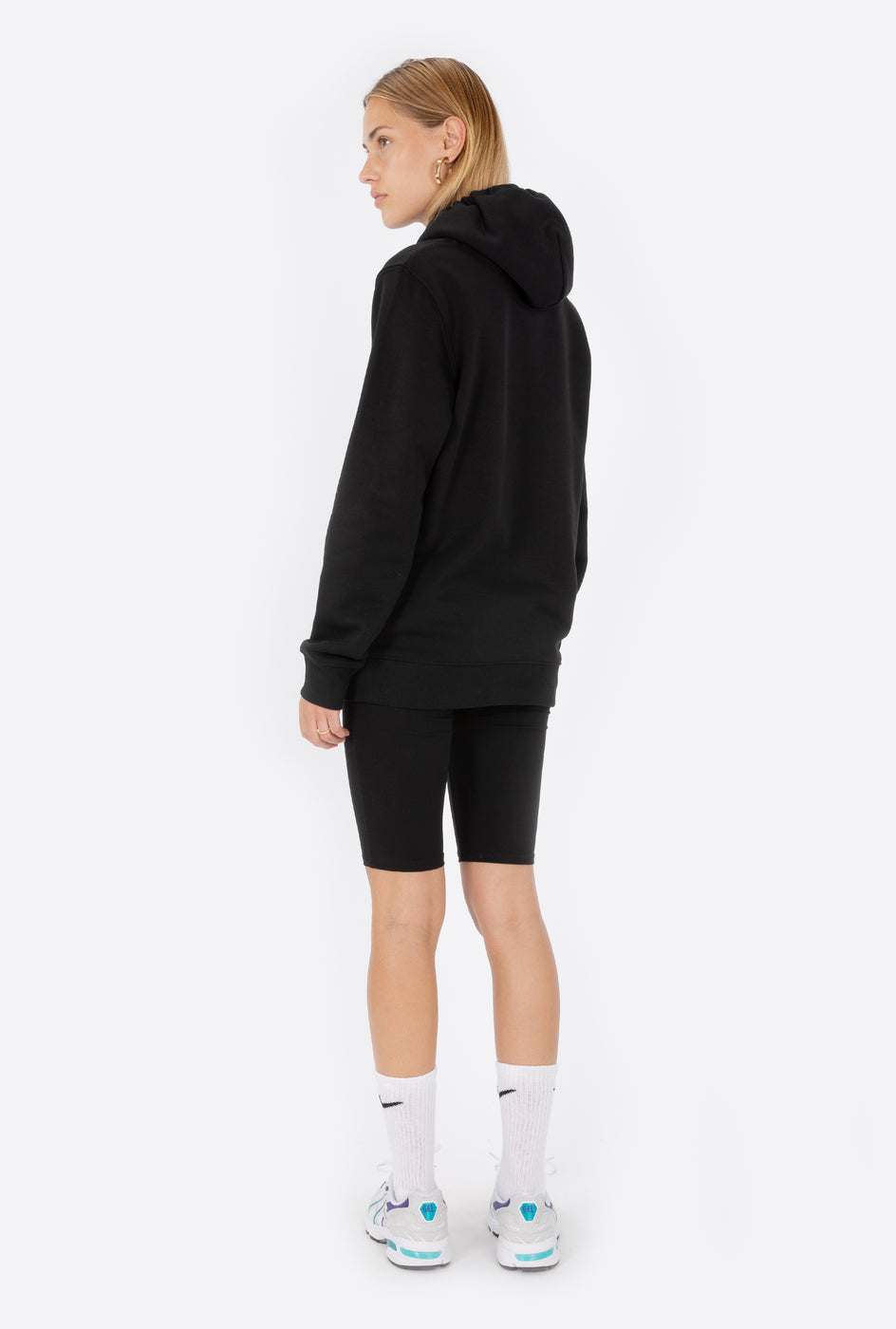 Hoodie Black Classic Rad - Embroidered