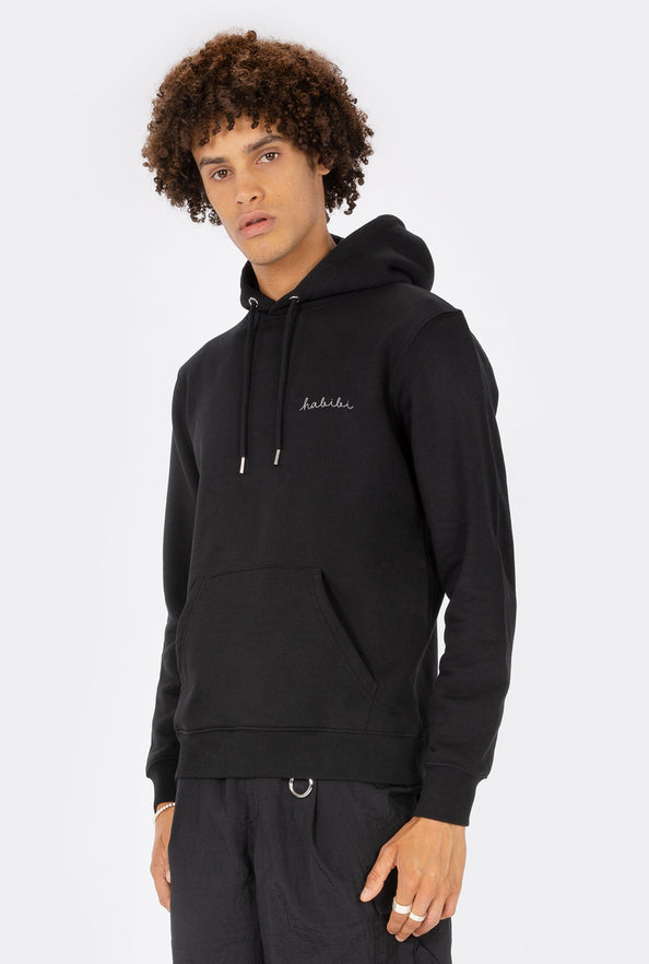 Hoodie Habibi - Embroidered