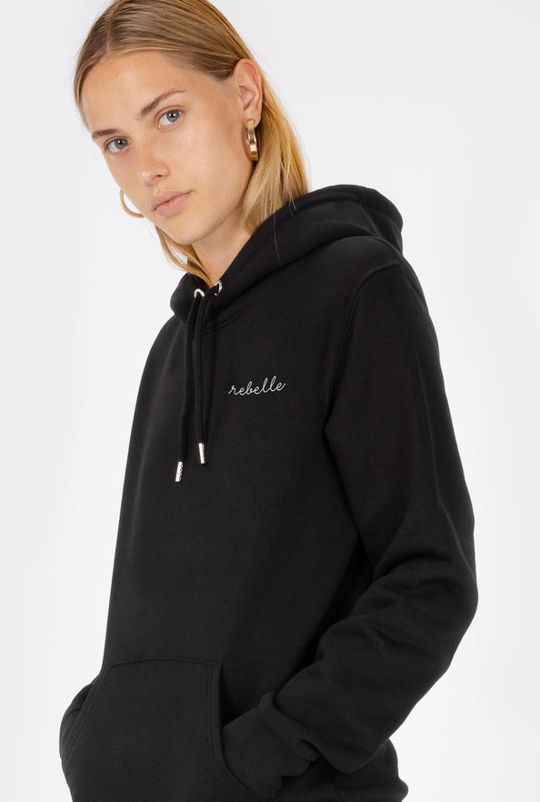 Hoodie Rebelle - Embroidered