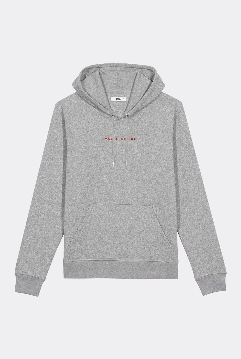 Hoodie Mucho Dinero - Embroidered