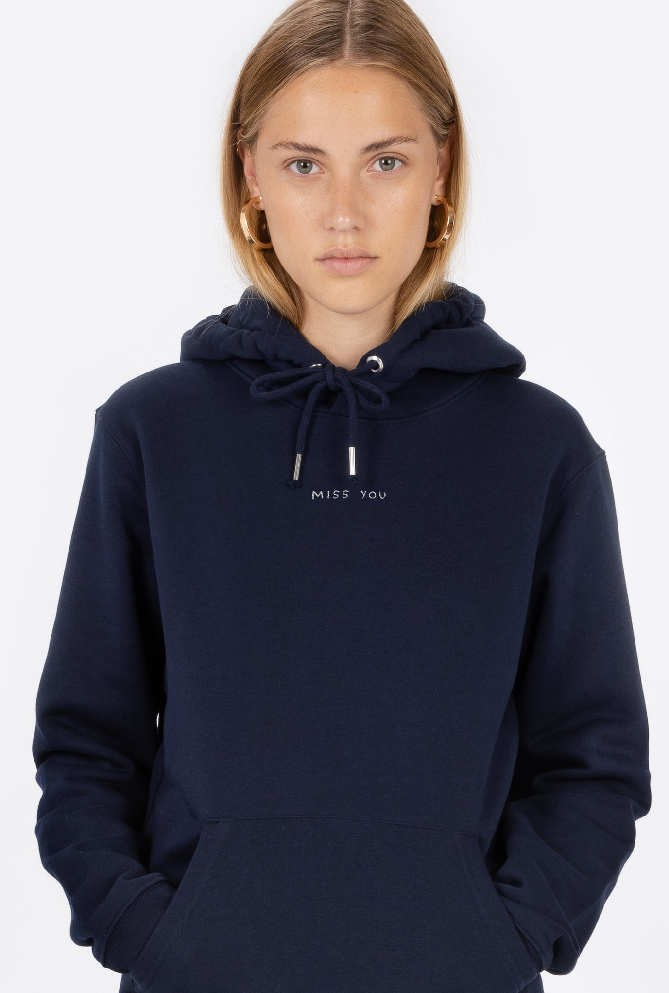 Hoodie Miss You - Embroidered