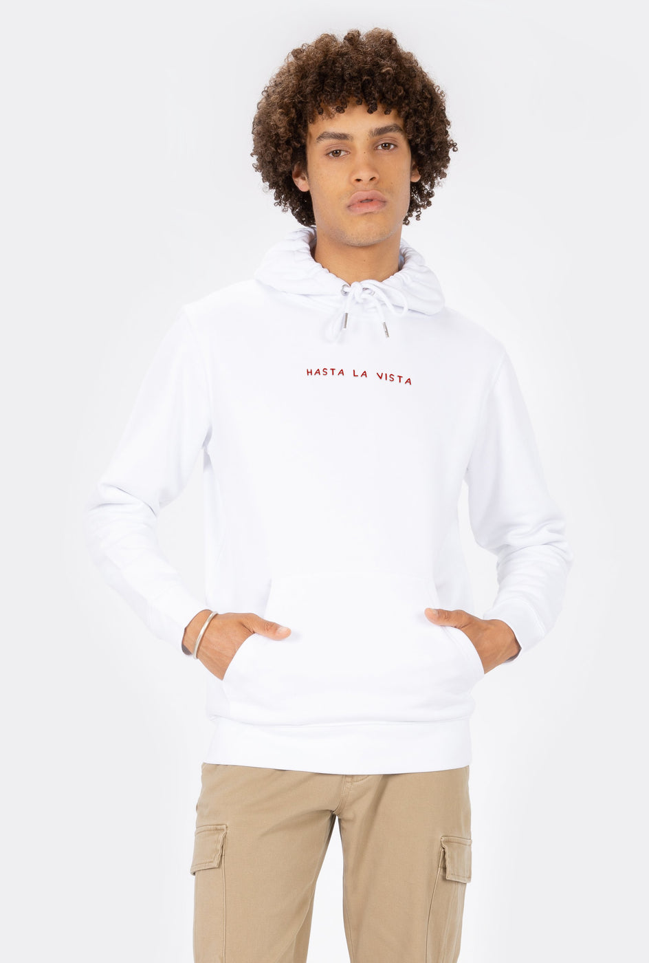 Hoodie Hasta La Vista - Embroidered