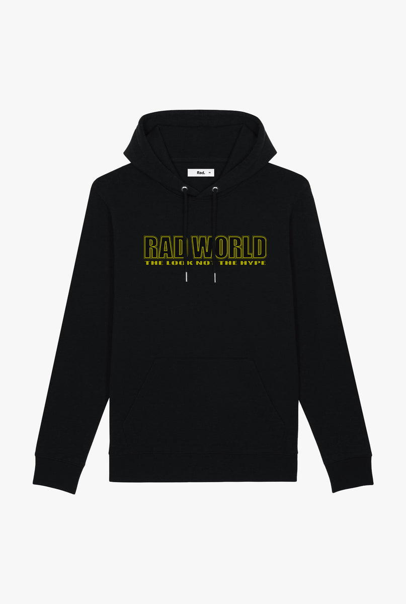 Hoodie Black Rad World