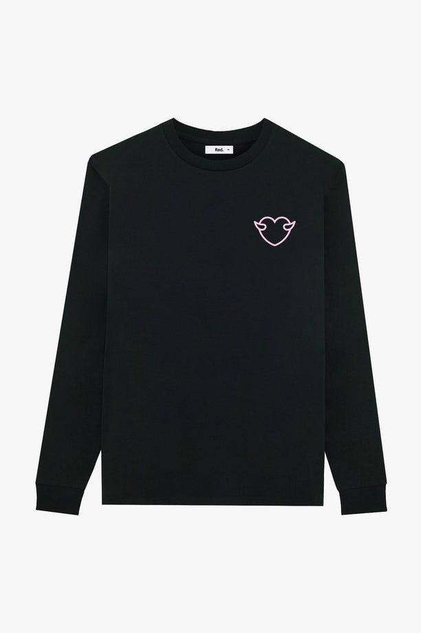 T-Shirt L/S Black Anti Fuckboy Club