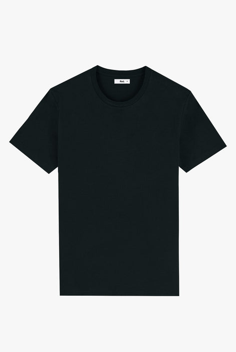 T-Shirt S/S Black Magnifying